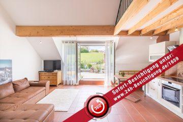 Gepflegte 2,5 Zimmer Maisonettewohnung mit Galerie und grosser Terrasse, 76327 Pfinztal / Wöschbach, Maisonettewohnung