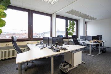 Attraktive Büro- / Praxisräume direkt am Messplatz im wohl sichersten Gebäude der Goldstadt., 75172 Pforzheim, Bürofläche
