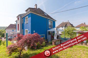 Wohnen im Blauen Haus in Eutingen, 75181 Pforzheim, Zweifamilienhaus