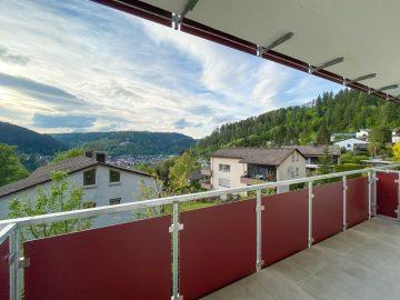 Vermietete 1 1/2-Zimmerwohnung mit traumhafter Aussicht über die Stadt., 75378 Bad Liebenzell, Etagenwohnung